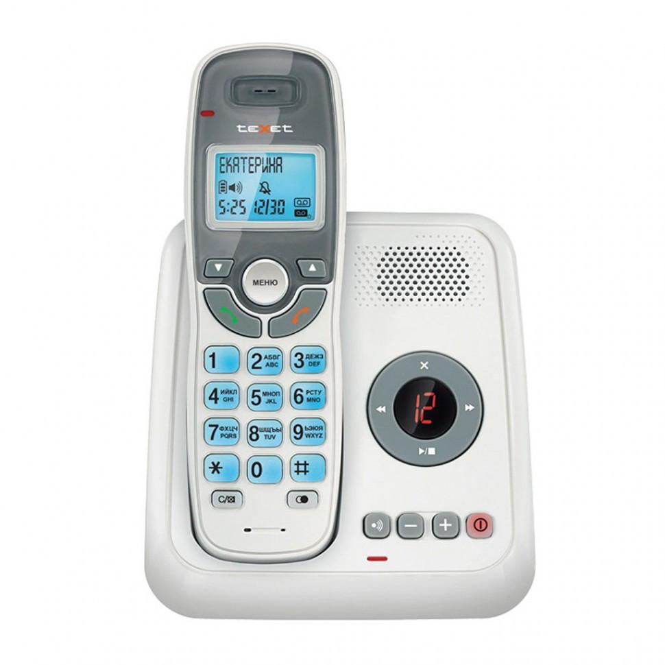 Телефон беспроводной Texet TX-D6955А белый