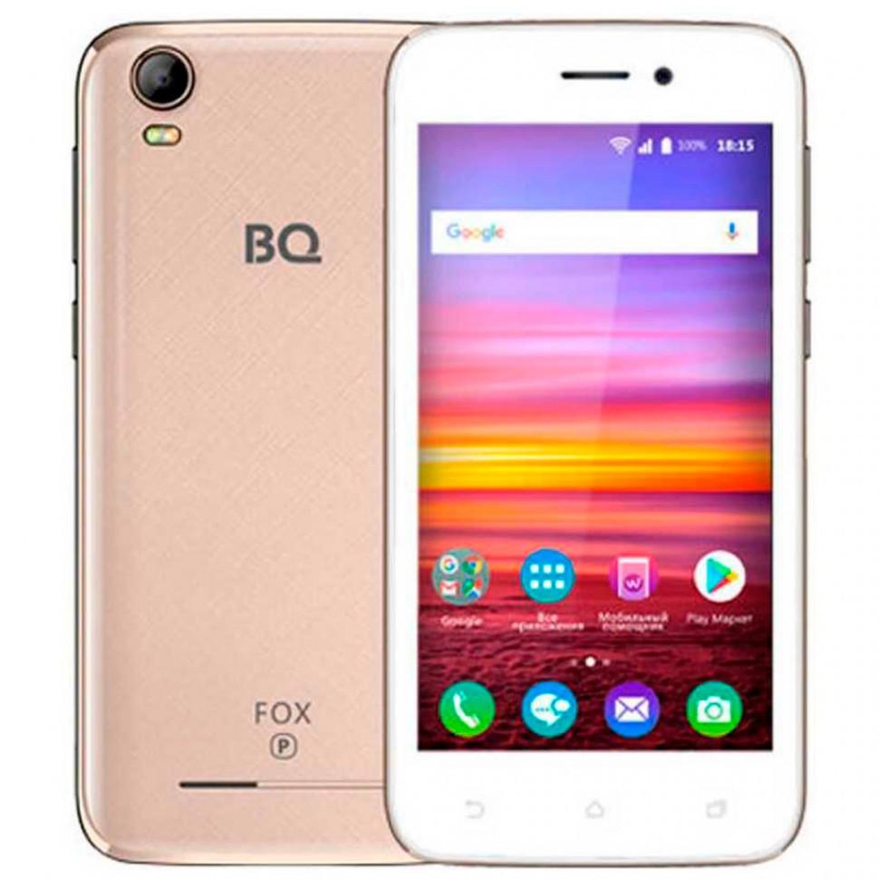 Смартфон BQ 4583 Fox Power Gold