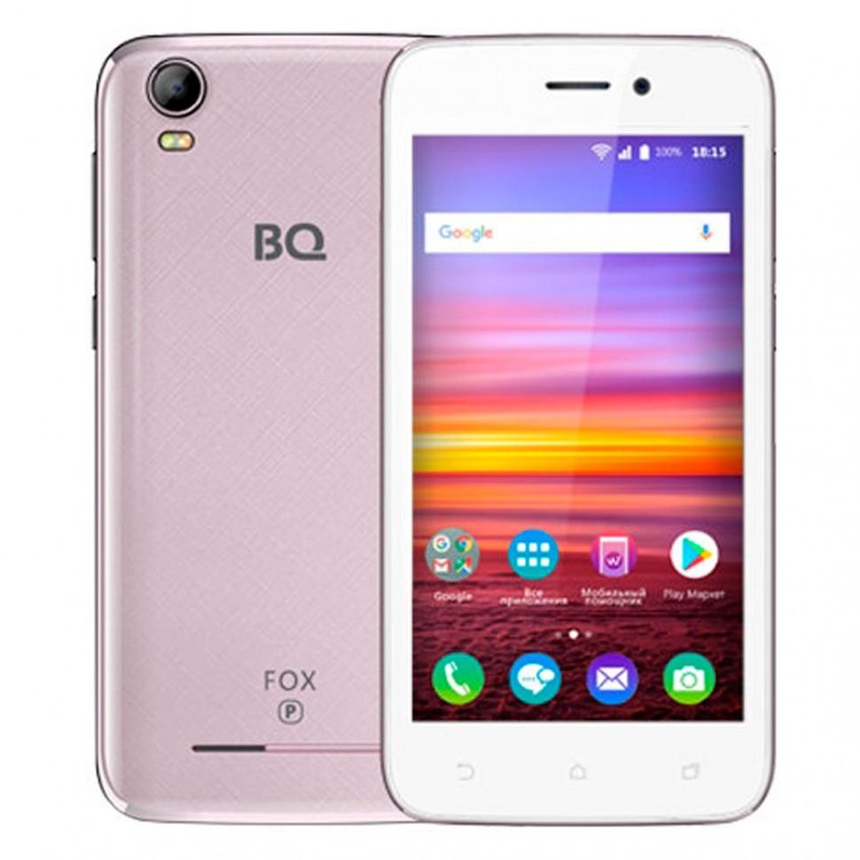 Смартфон BQ 4583 Fox Power Rose Gold