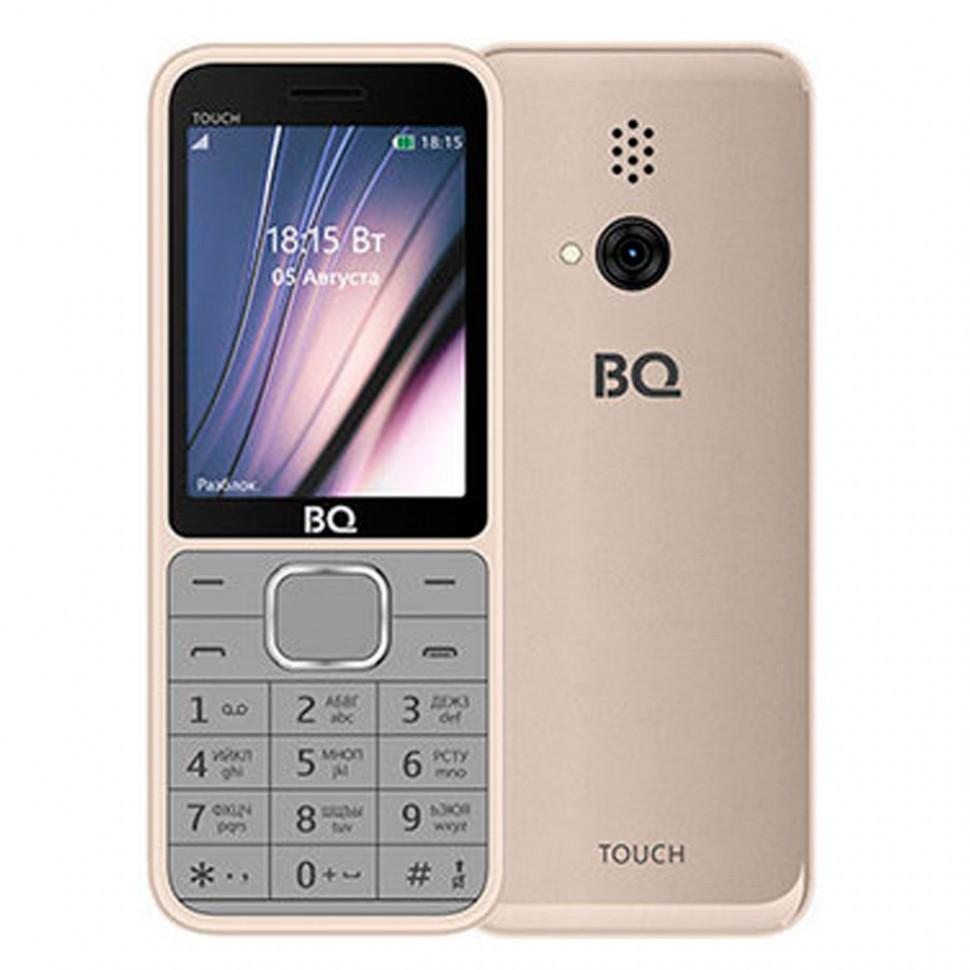 Мобильный телефон BQ 2429 Touch Gold