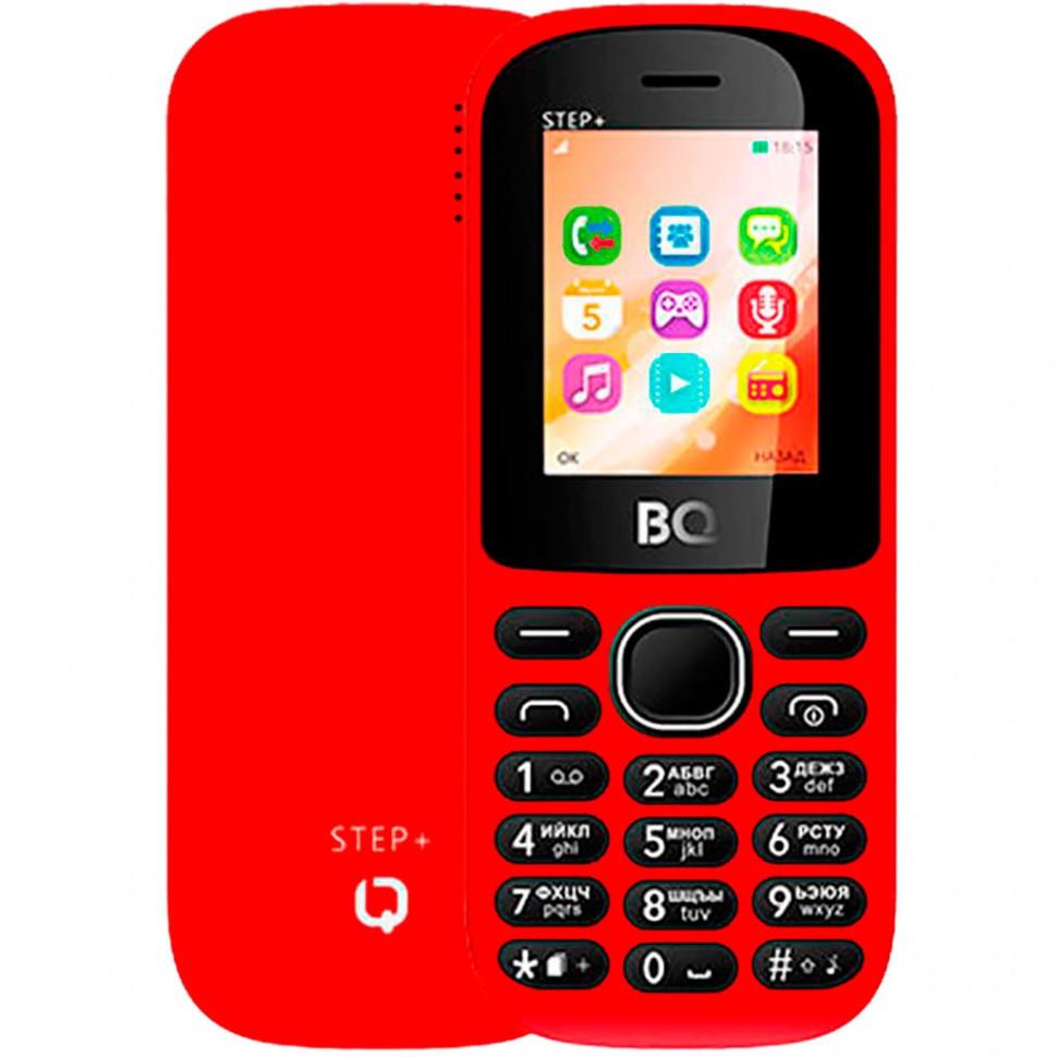 Мобильный телефон BQ 1807 Step+ Red