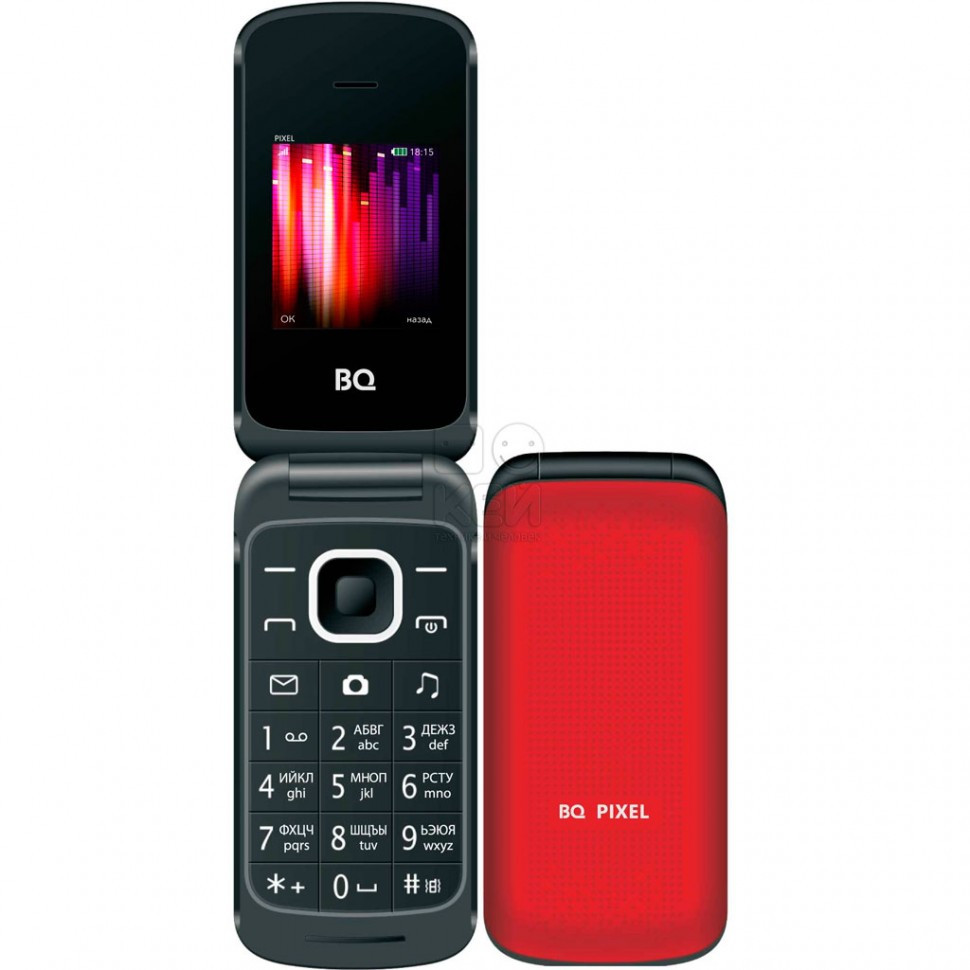 Мобильный телефон BQ 1810 Pixel Red
