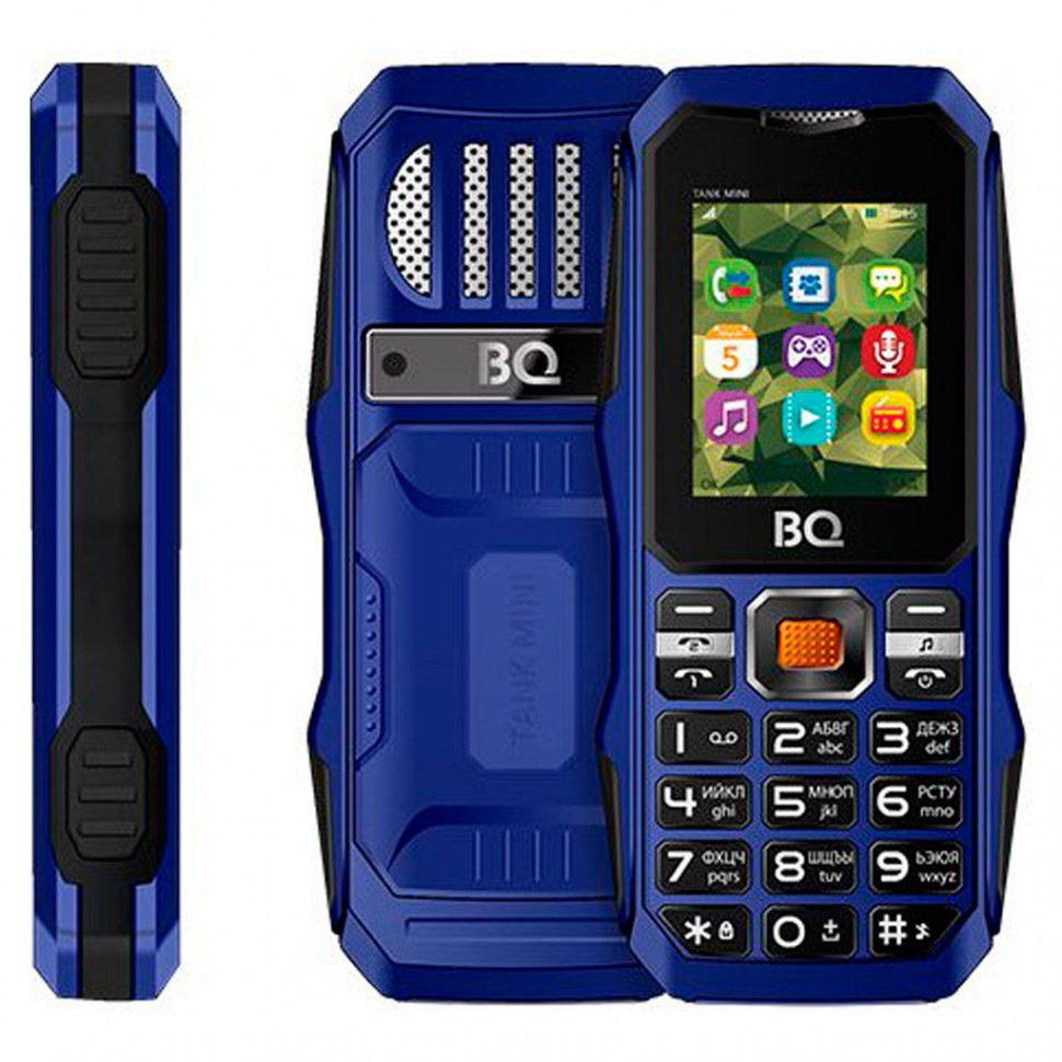 Мобильный телефон BQ 1842 Tank mini Dark Blue