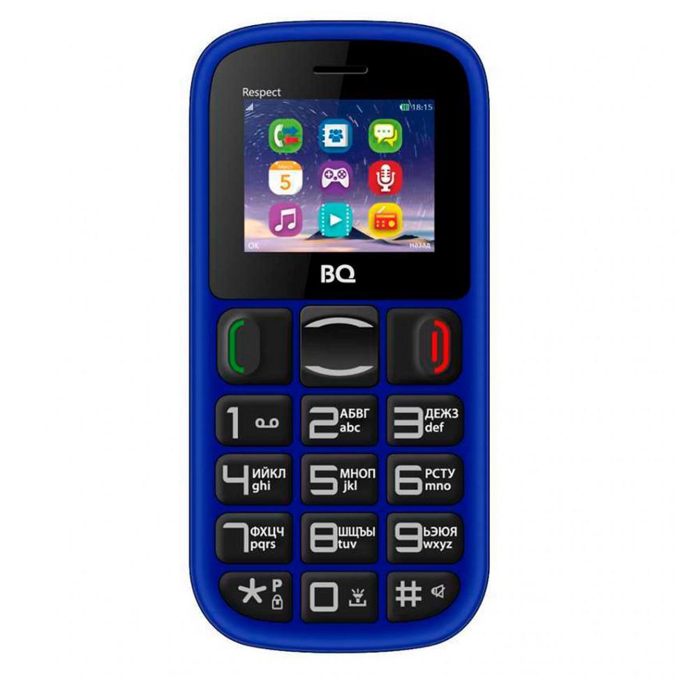 Мобильный телефон BQ 1800 Respect Dark Blue