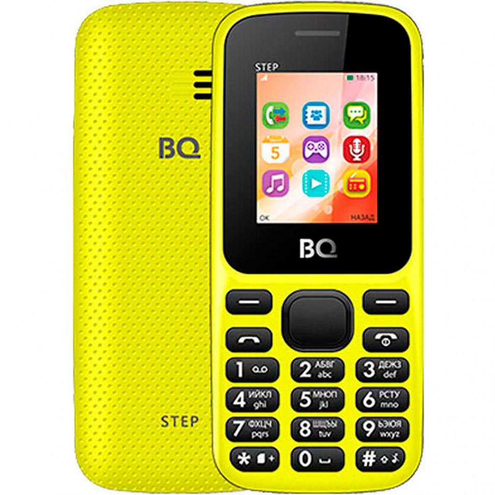 Мобильный телефон BQ 1805 Step Yellow