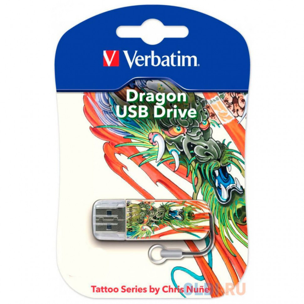 USB Флеш 16GB 2.0 Verbatim 049888 дракон