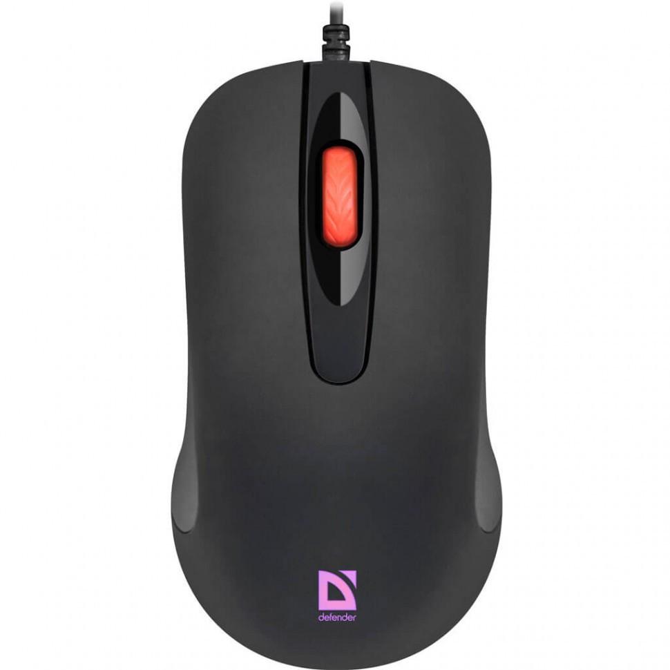 Компьютерная мышь Defender Ultra Classic MB-280 черный