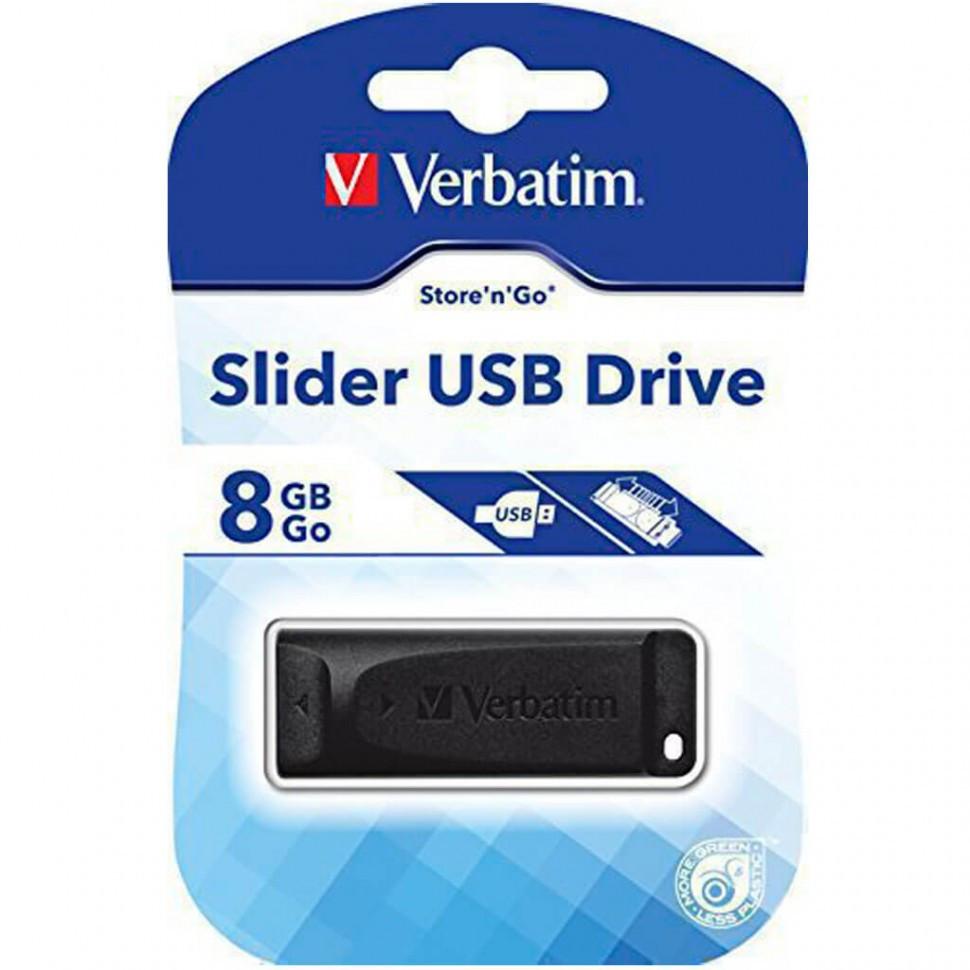 USB накопитель 8GB 2.0 Verbatim 098695 черный