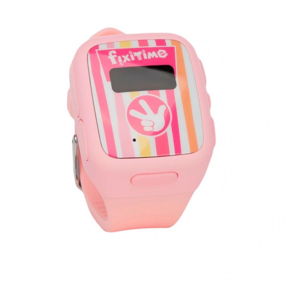 Смарт часы Elari FIXITIME розовый