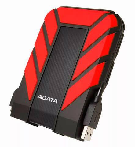 Внешний жесткий диск 2,5 1TB Adata AHD710P-1TU31-CRD красный