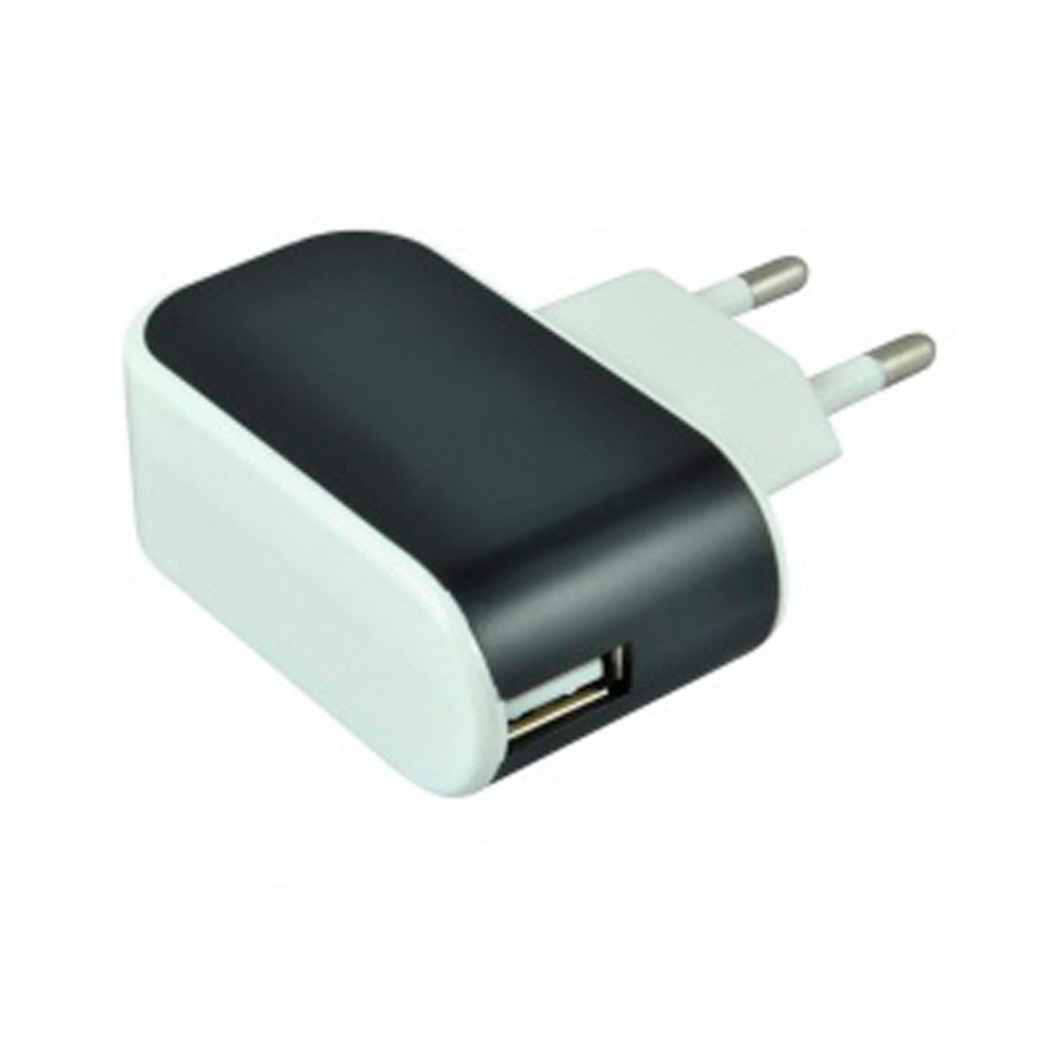 СЗУ SmartBuy COLOR CHARGE Combo, 2А, USB + кабель MicroUSB, черное (SBP-8060)/100
