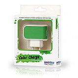 СЗУ SmartBuy COLOR CHARGE, 2А, универсальное, 1хUSB, зеленое (SBP-8040)/100, фото 2