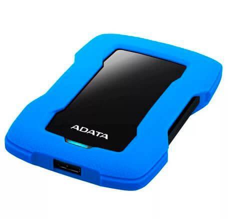 Внешний жесткий диск 2,5 2TB Adata AHD330-2TU31-CBL синий