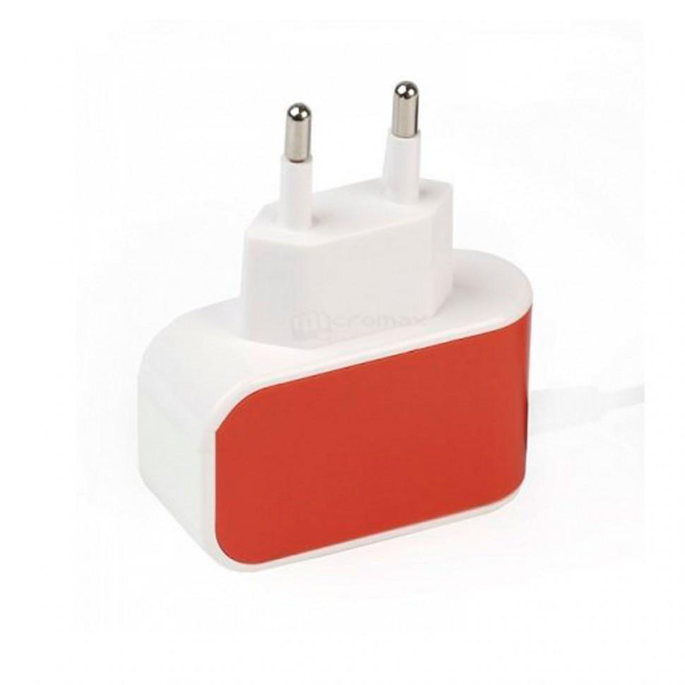 СЗУ SmartBuy COLOR CHARGE, 2А, универсальное, 1хUSB, оранжевое (SBP-8050)/100