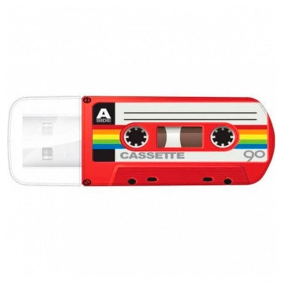 USB Флеш 32GB 2.0 Verbatim 049392 кассета красная