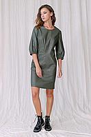 Женское осеннее серое платье Fantazia Mod 3760 42р.