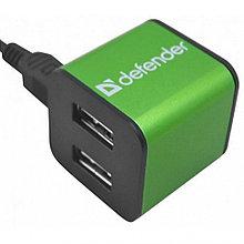 Разветвитель USB (HUB) Defender  Quadro Iron, 83506