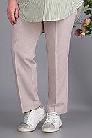 Женские осенние бежевые большого размера брюки Algranda by Новелла Шарм А3549 68р.