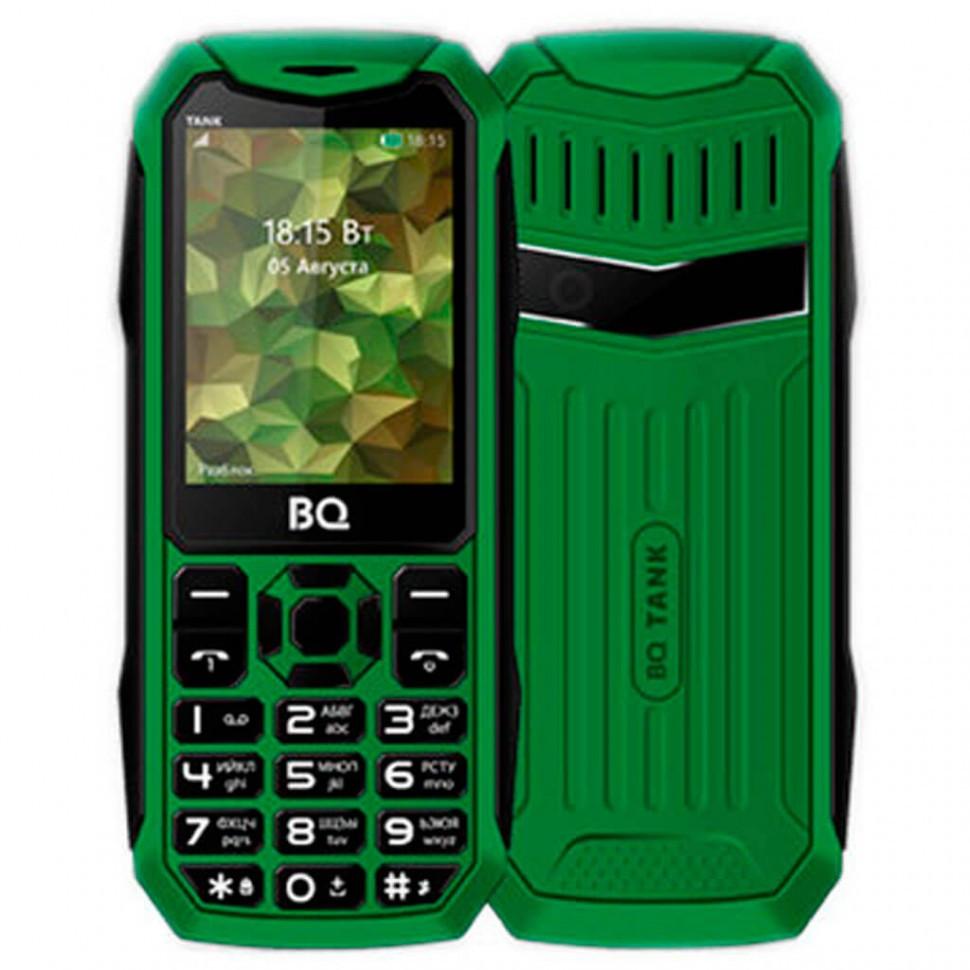 Мобильный телефон BQ-2428 Tank Green