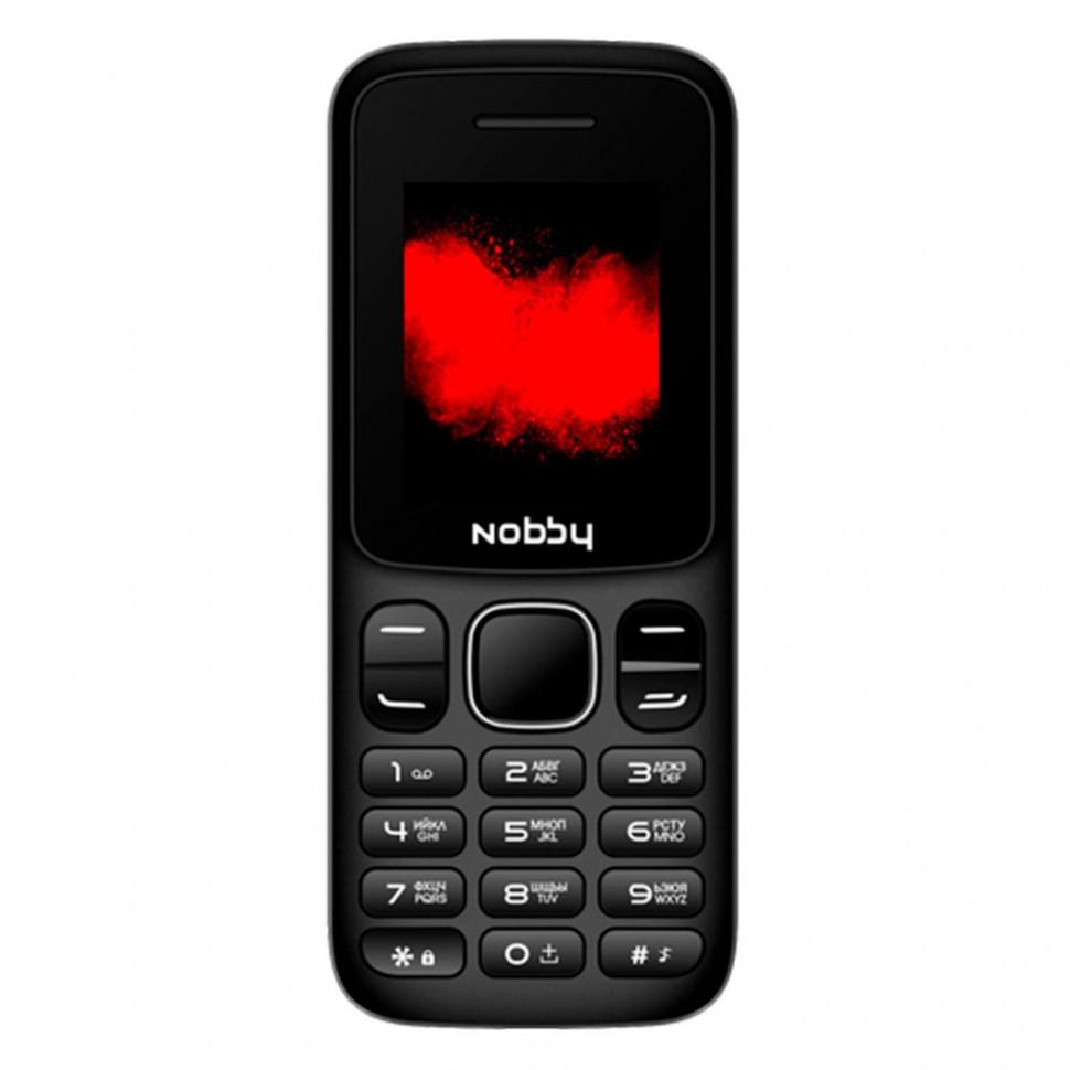 Мобильный телефон Nobby 101 красно-черный
