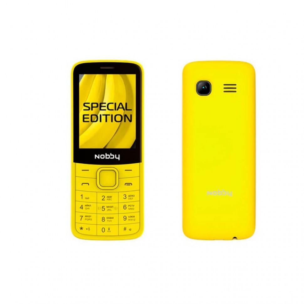 Мобильный телефон Nobby 100 лимонад