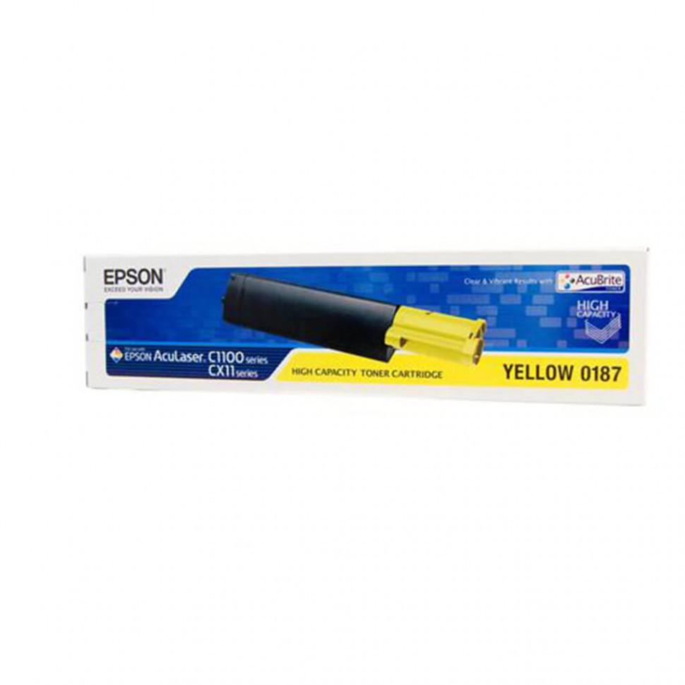 C13S050187 картридж High Cap Toner Cart (Yellow) for AcuLaser C1100