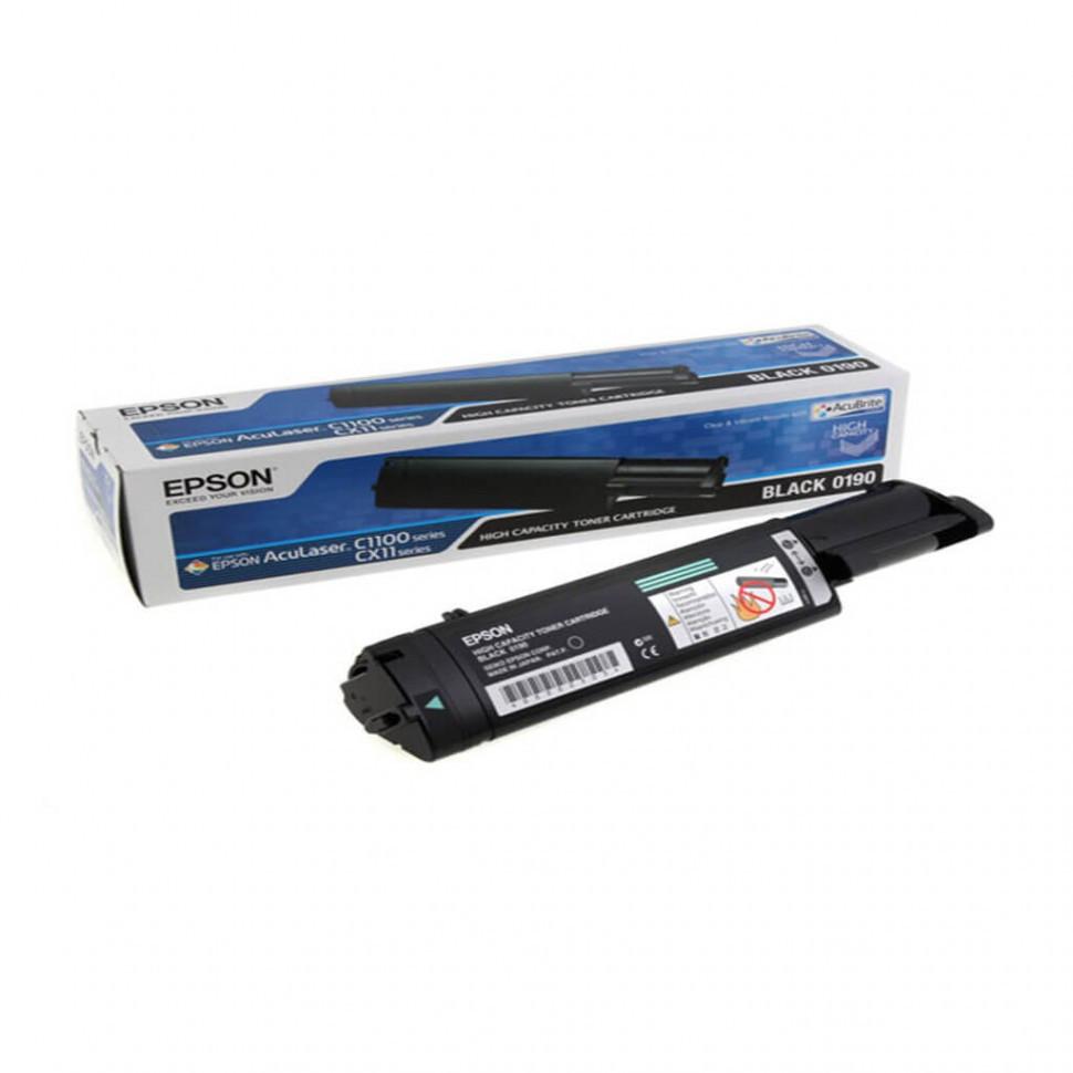 C13S050190 картридж High Cap Toner Cart (Black) for AcuLaser C1100