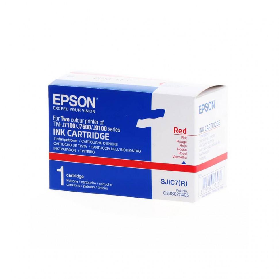 Картридж с красными чернилами Epson, C33S020405