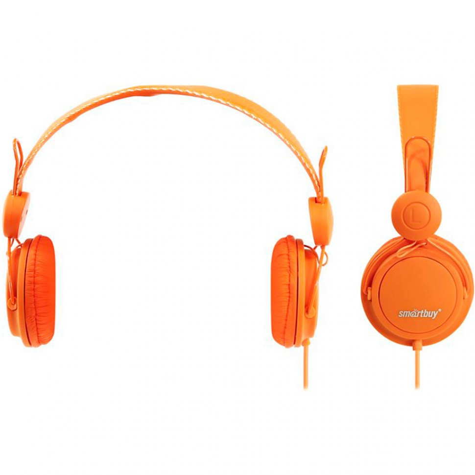 Полноразмерные наушники SmartBuy® TRIO, оранжевые (SBE-9110)/ 40 - фото 1
