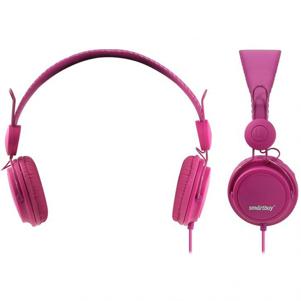 Полноразмерные наушники SmartBuy® TRIO, пурпурные (SBE-9140)/ 40 - фото 1