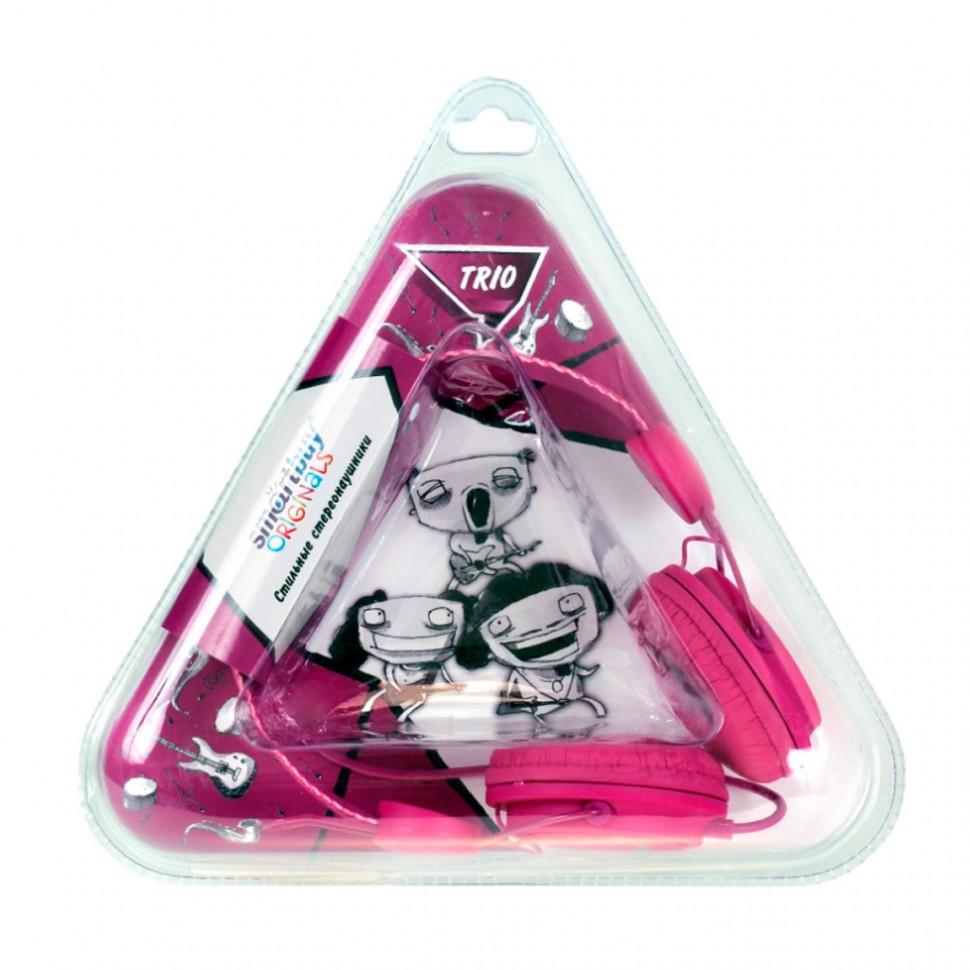 Полноразмерные наушники SmartBuy® TRIO, пурпурные (SBE-9140)/ 40 - фото 2