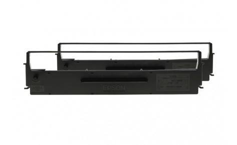 Картридж Epson, C13S015327BA, Ribbon cartridge for FX 2190 BA-version