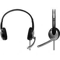 Полноразмерная стерео гарнитура SmartBuy® FIGHTER, рег.громкости, кабель 2.5м (арт.SBH-7500)/20