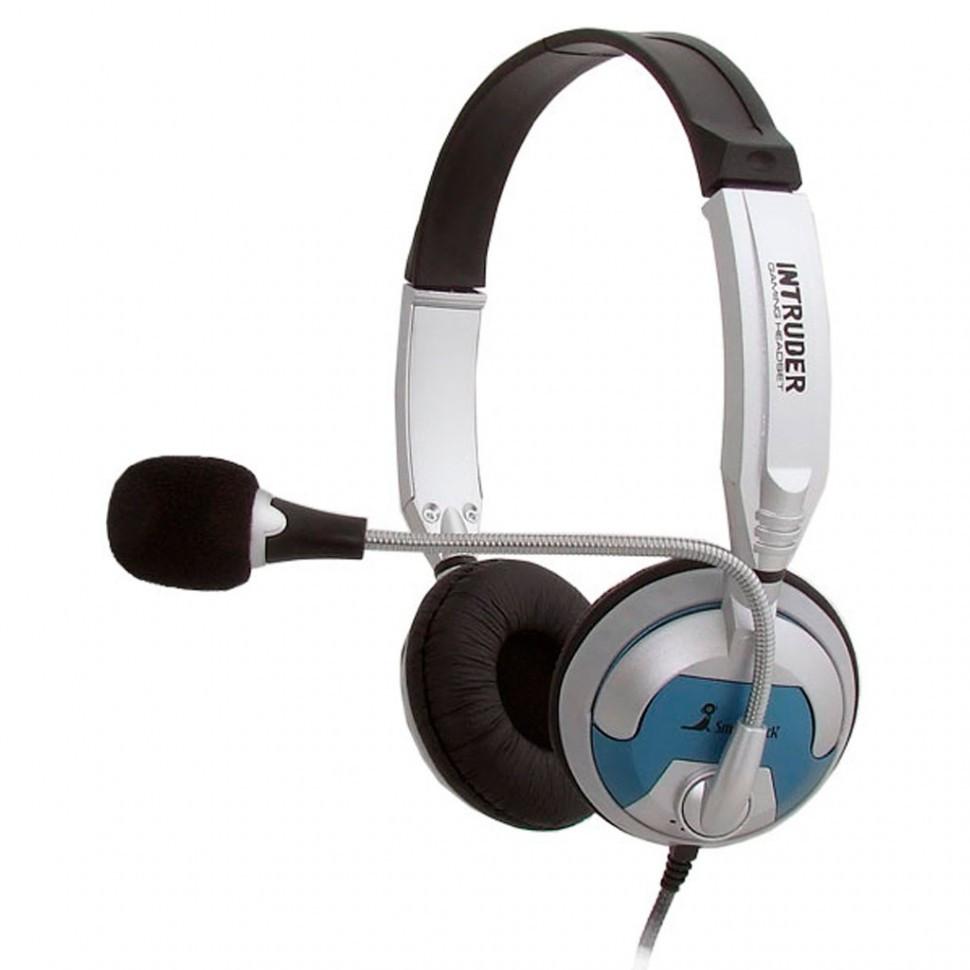 Полноразмерная стерео гарнитура SmartBuy® INTRUDER, рег.громкости, кабель 2.5м (арт. SBH-7300) / 20