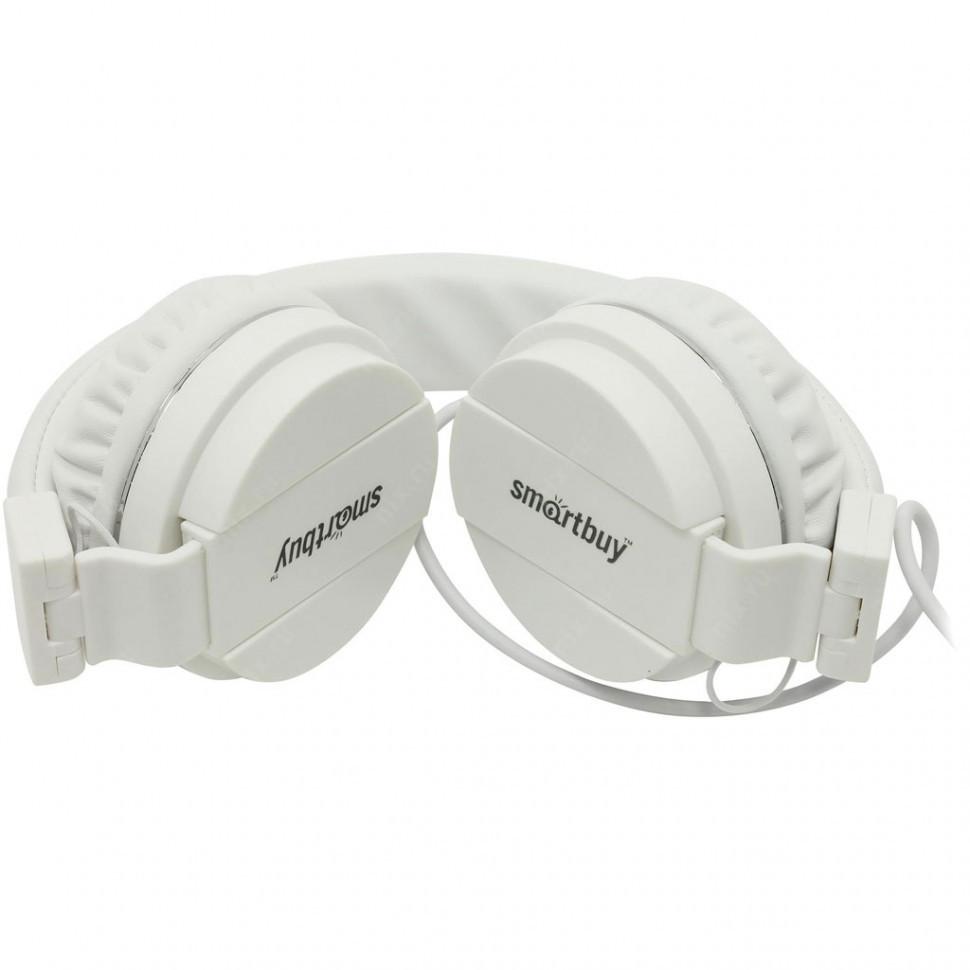 Полноразмерная универсальная гарнитура SmartBuy® ONE, микрофон, белая (SBH-120)/40 - фото 1