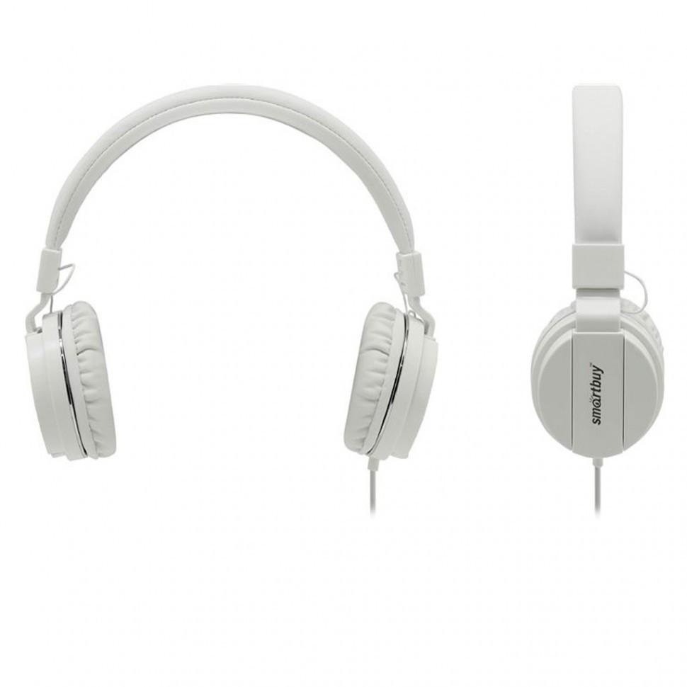 Полноразмерная универсальная гарнитура SmartBuy® ONE, микрофон, белая (SBH-120)/40 - фото 2
