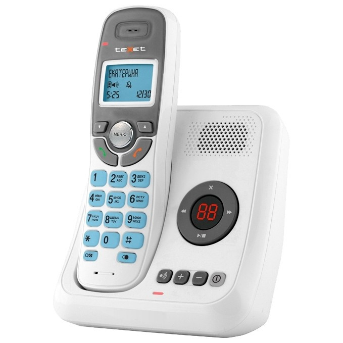 Цифровой телефон Texet TX-D6955A, белый
