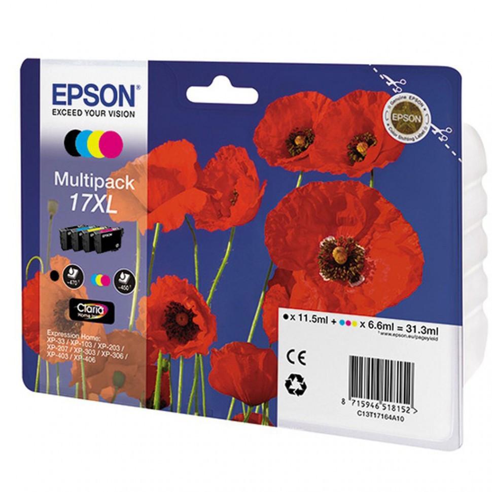 Картридж Epson C13T17064A10 XP33/203/303 набор 4шт