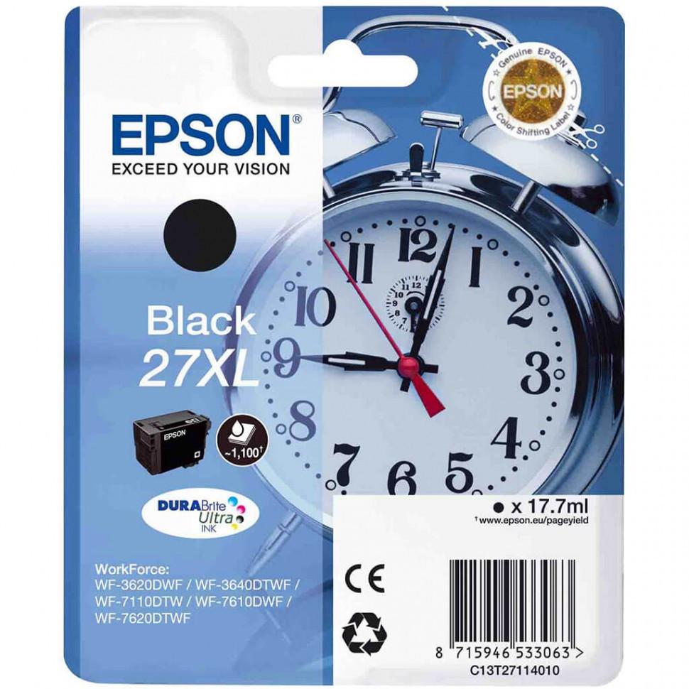 Картридж с черными чернилами DURABrite Ultra Epson, C13T27114020