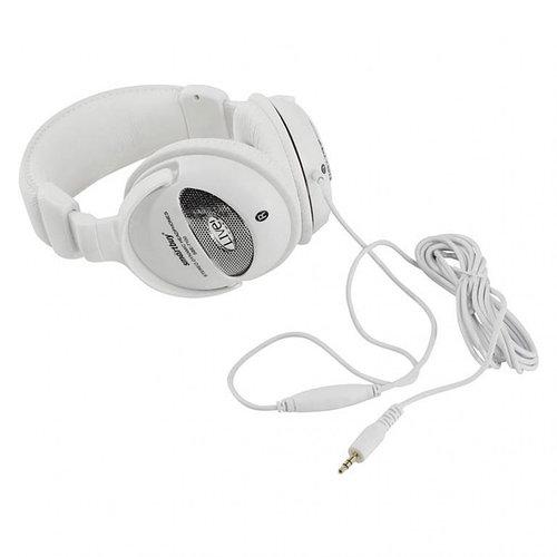 Полноразмерные наушники SmartBuy® LIVE!, 4м кабель, 50мм динамики, белые (арт.SBE-7100)/10