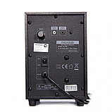 Акустическая система, Microlab, M-108, 11Вт (2,5Вт*2+6Вт), Вход/Выход 3,5 MiniJack, Чёрный, фото 2