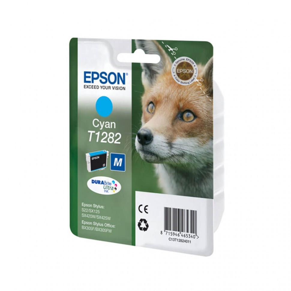 Картридж Epson C13T12824011 I/C cyan for  S22 / SX125  SX420W / SX425W / BX305F