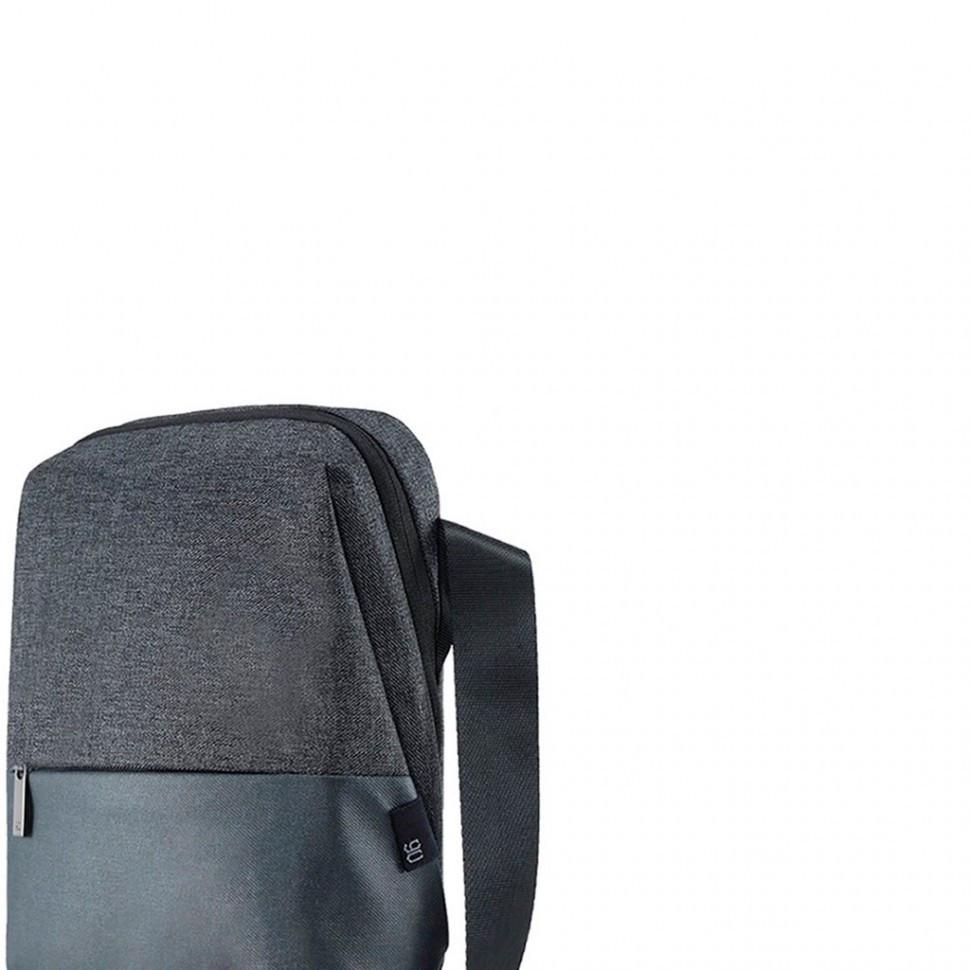 Сумка для ноутбука RunMi 90GOFUN, Xiaomi, (6970055342353), 21x28x7 см, Темно-Серый
