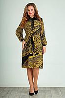 Женское осеннее шифоновое большого размера платье Jurimex 2308 54р.