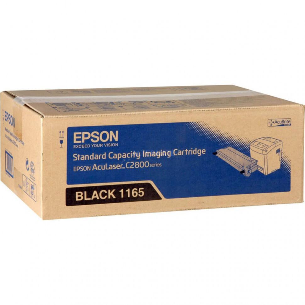 Картридж C13S051165 Black toner ALC2800 Standard Capacity