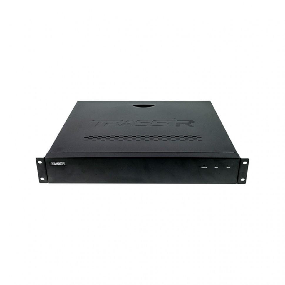 Видеорегистратор TRASSIR DuoStation AnyIP 24-16P Сетевой на 24 канала (16 портов PoE)