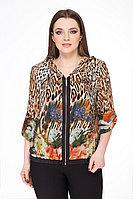 Женская осенняя большого размера блуза БелЭкспози 752 50р.