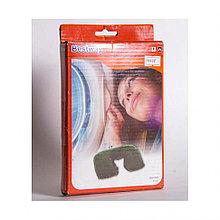 Подушка надувная под шею Flocked Air Neck Rest 37 х 24 х 10 см, BESTWAY, 67006