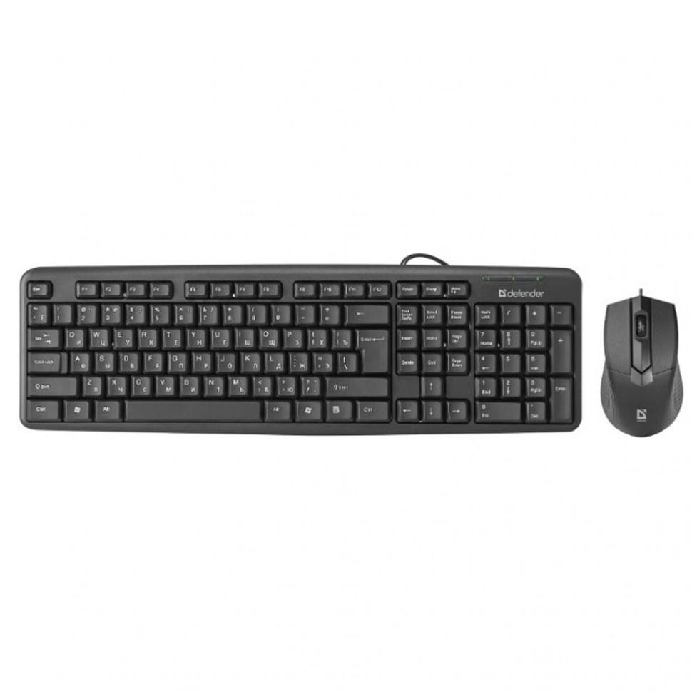 Комплект Клавиатура + Мышь Defender Dakota C-270 RU, черный