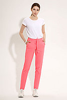 Женские летние хлопковые розовые брюки Панда 485060p розовый 40р.